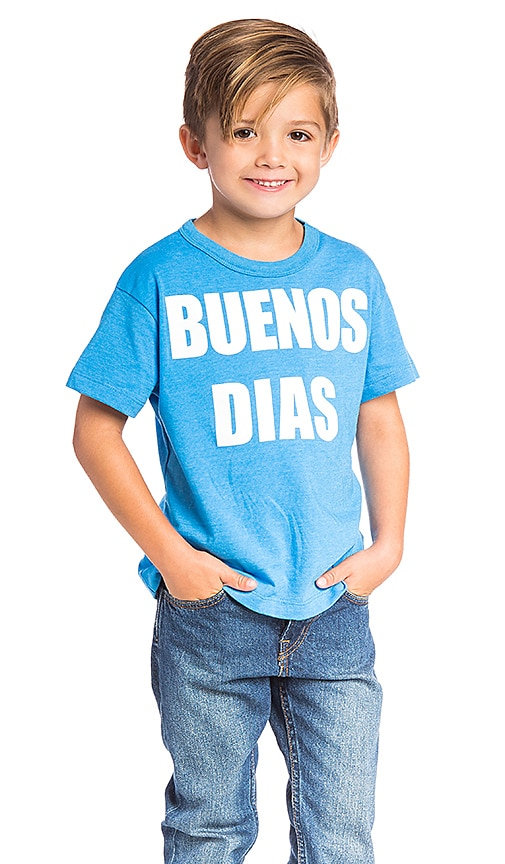 Chaser Buenos Dias Tee in Blue