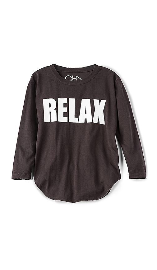 Chaser Relax Tee in Black