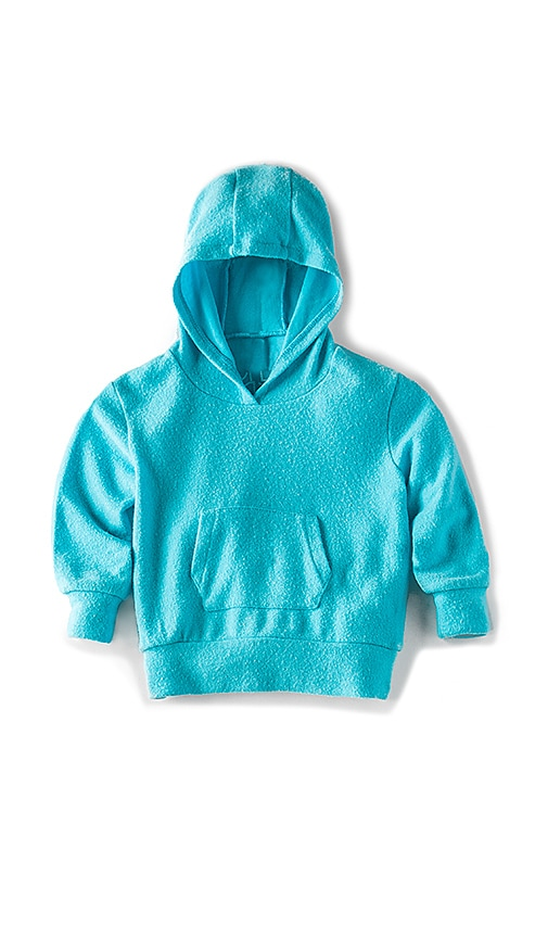 Chaser Reverse Fleece Hoodie in Blue