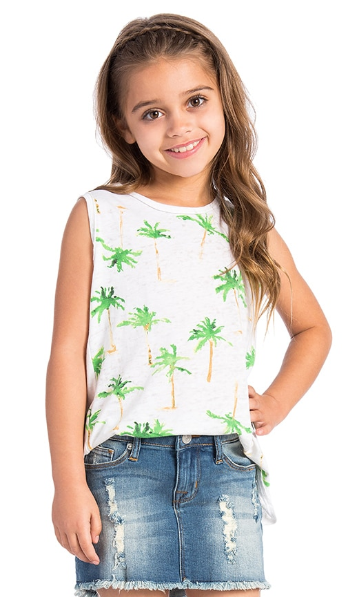 Palm Tree Breeze Tank