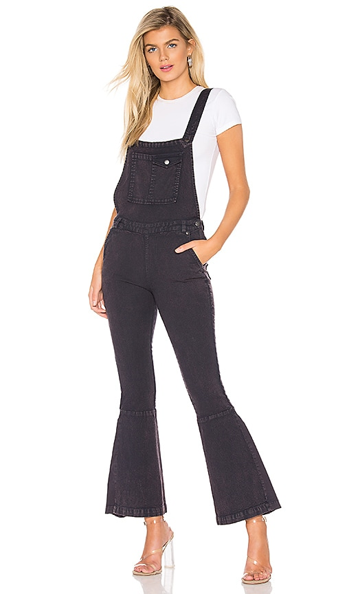 Flared Crossback Overalls