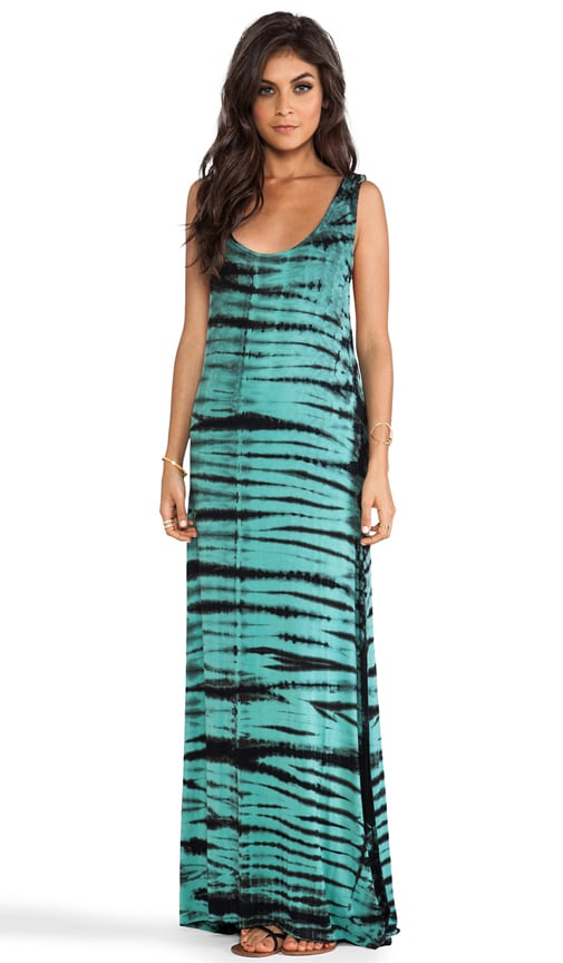 Deep Armhole Maxi Dress