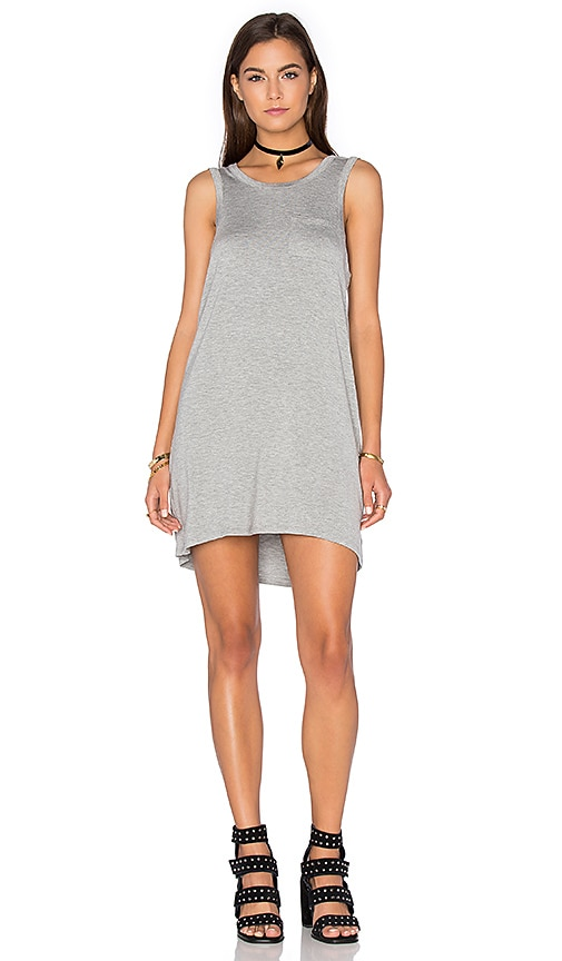 Chaser Open Back Mini Dress in Grey
