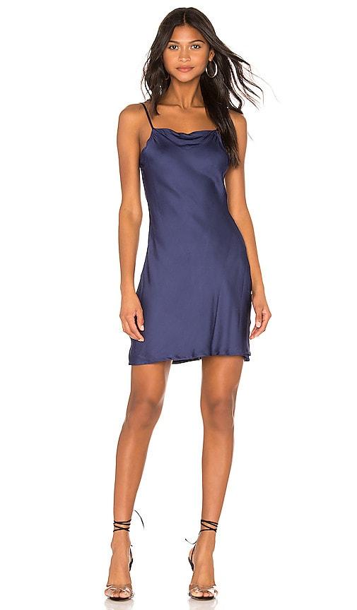 Deep Scoop Back Midi Slip Dress