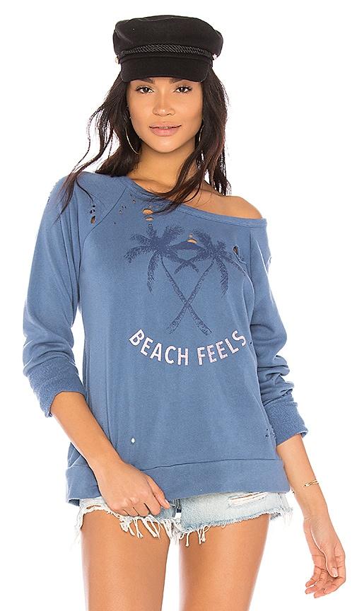Chaser Beach Feels Sweatshirt in Blue