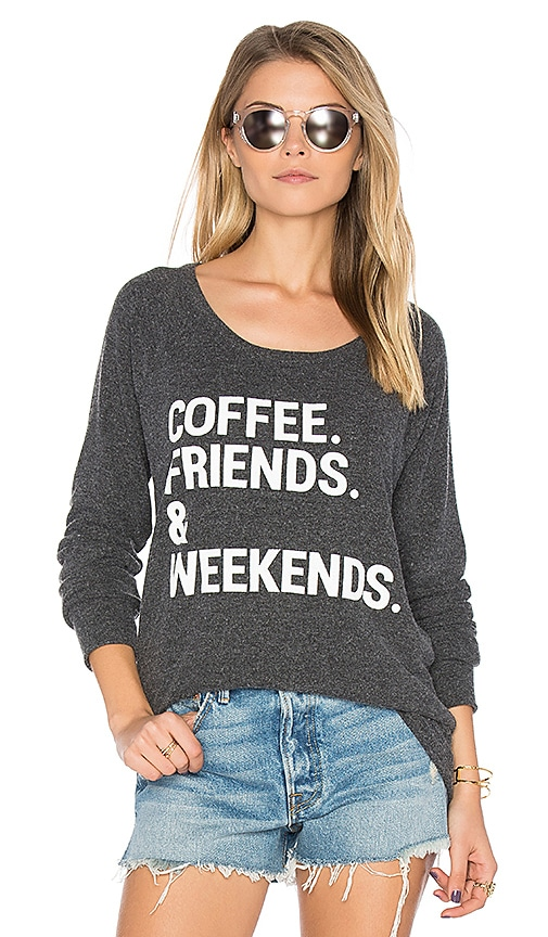 Coffee Friends & Weekends Pullover