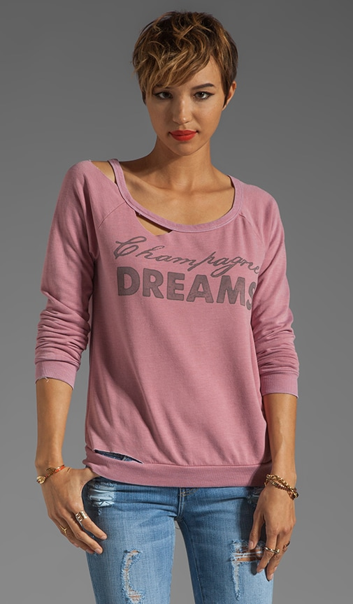Champagne Dreams Deconstructed Raglan