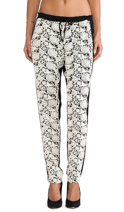 Lace Slouchy Pant