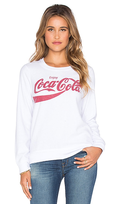 Chaser Vintage Coca-Cola Graphic Tee in White
