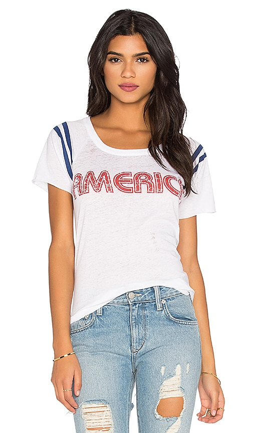 Chaser America Tee in White