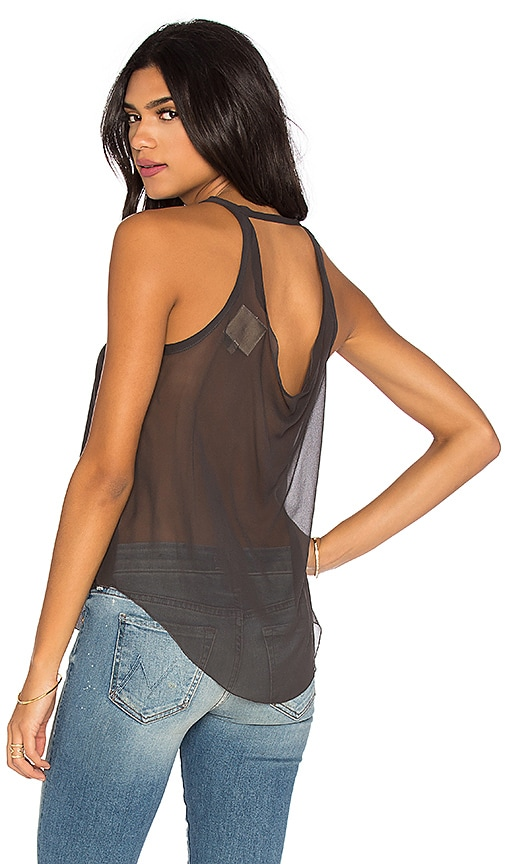 Silk Drape Back Tank