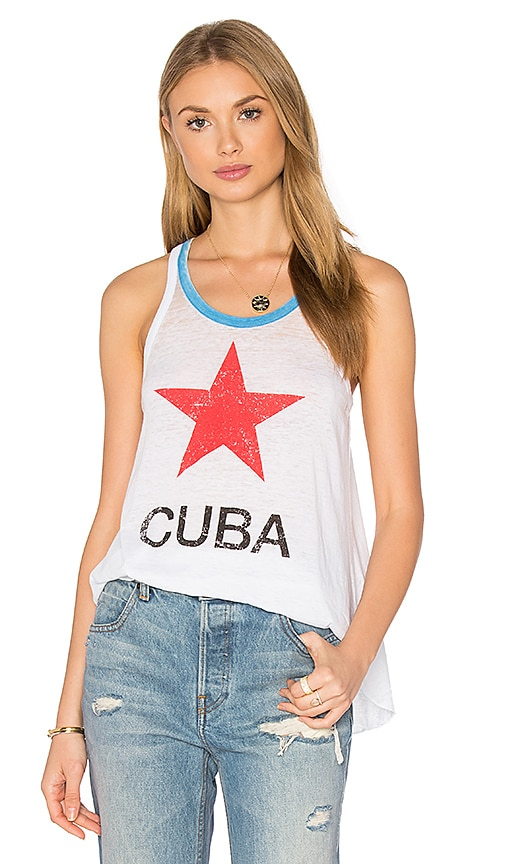 Chaser Cuba Tank in White