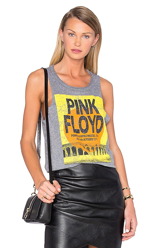 Chaser Pink Floyd Pompeii Tank in Gray