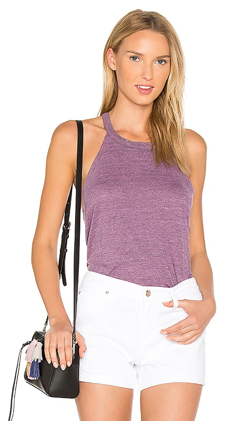 Chaser T-Back Tank in Purple