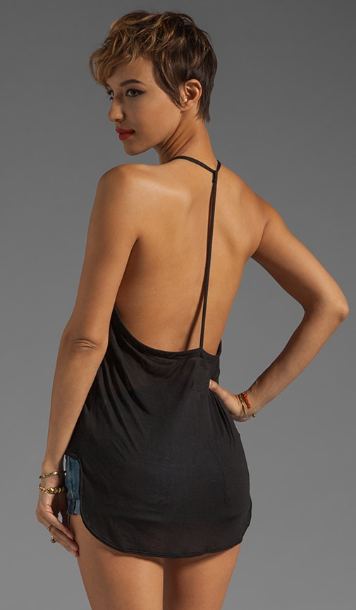 Liquid Jersey T-Back Cami