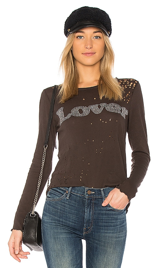 Chaser Lover Tee in Black