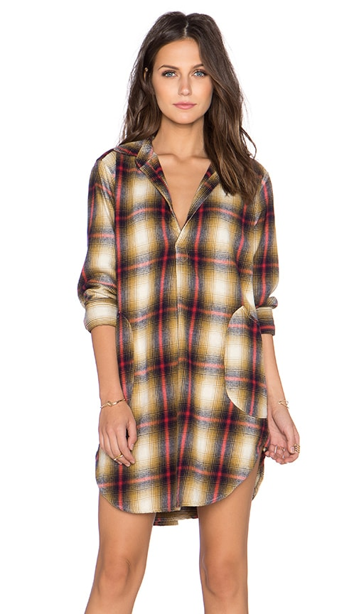 Teton Plaid Tunic
