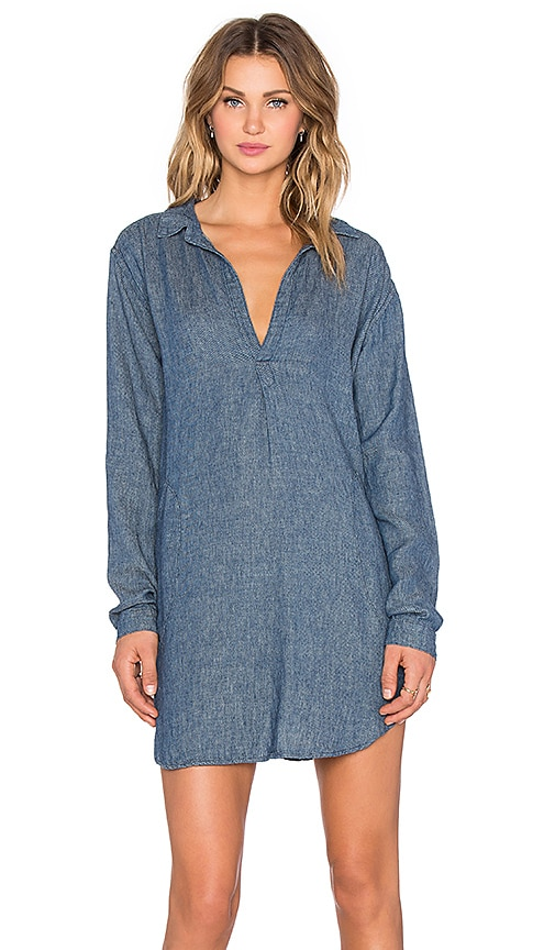 CP SHADES Teton Tunic Dress in Indigo