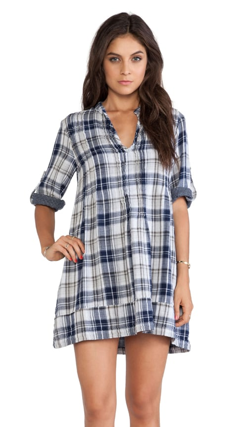 Regina Plaid Tunic Dress