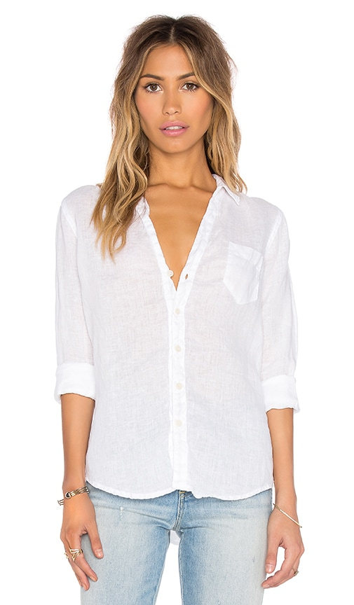 Sloane Solid Linen Shirt