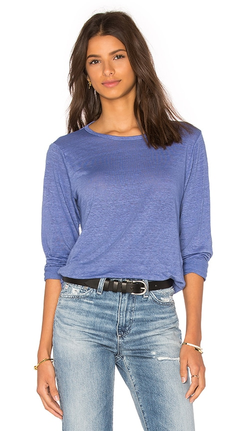 CP SHADES Tea Long Sleeve Tee in Blue