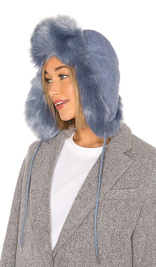 Fashion Helmut Faux Fur Hat