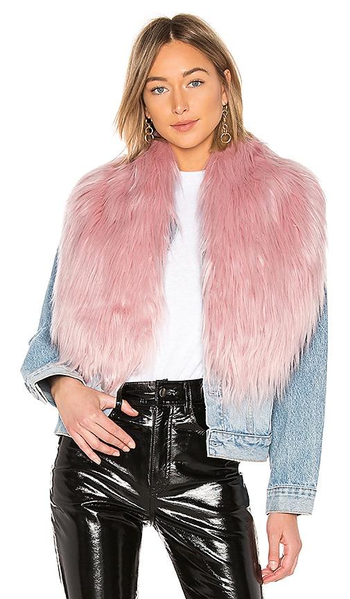Flossy Faux Fur Scarf