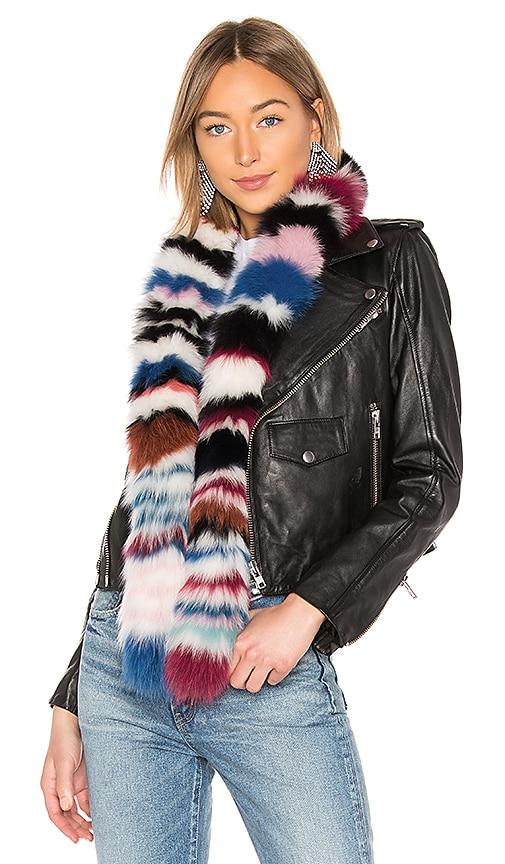 Chunky Monkey Fox Fur Scarf