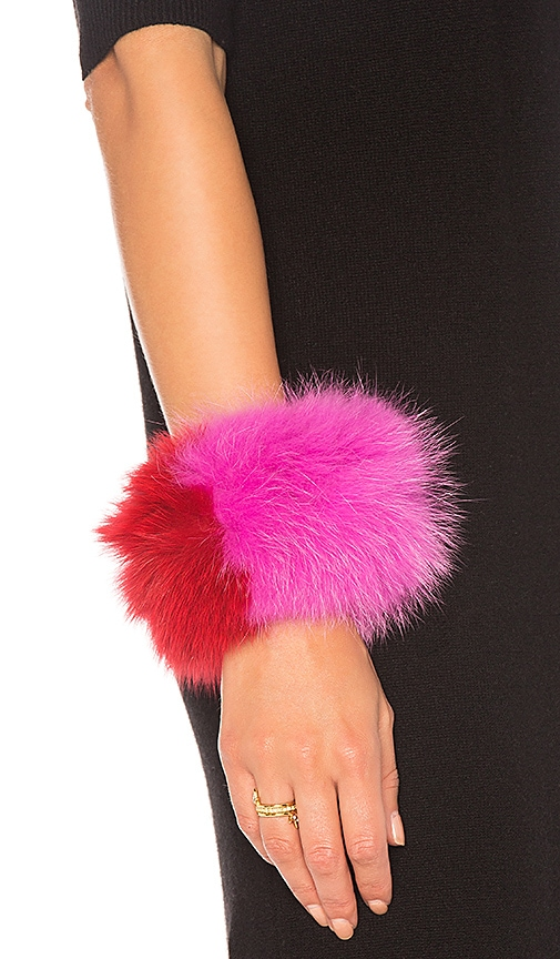 Charlotte Simone Spankie Bracelet in Pink