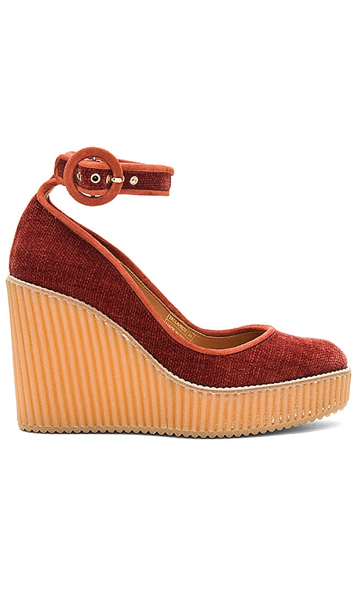 Castaner Quintay Wedge in Rust