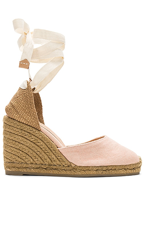Castaner Carina Wedge in Pink