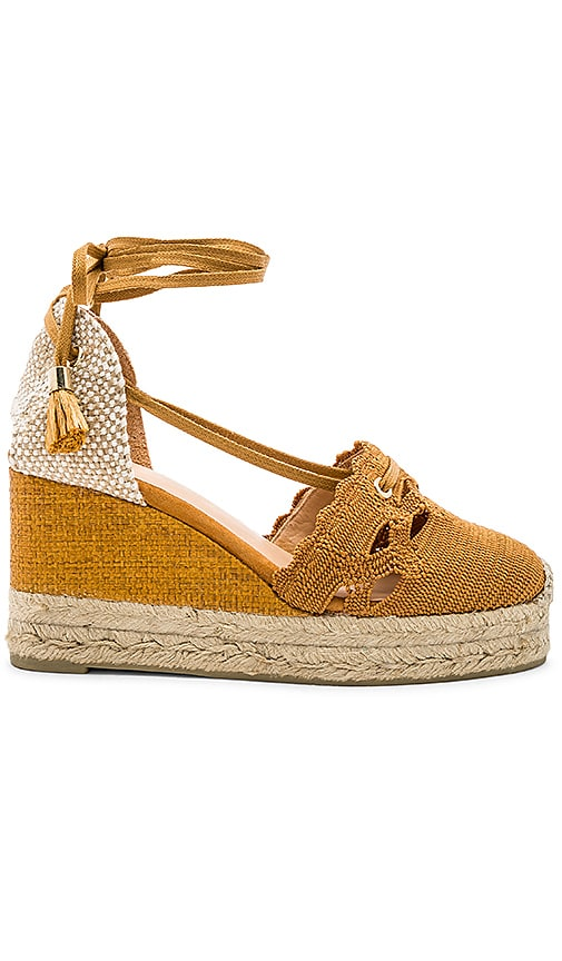 Castaner Cerezo Wedge in Tan