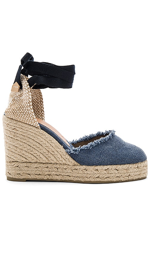 Castaner Canela Wedge in Blue