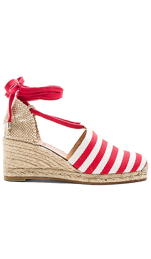 Castaner Campesina Wedge in Red