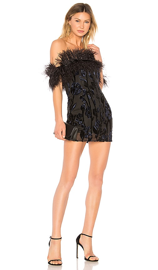 Chrissy Teigen x REVOLVE Jet Lagged Mini Dress in Black