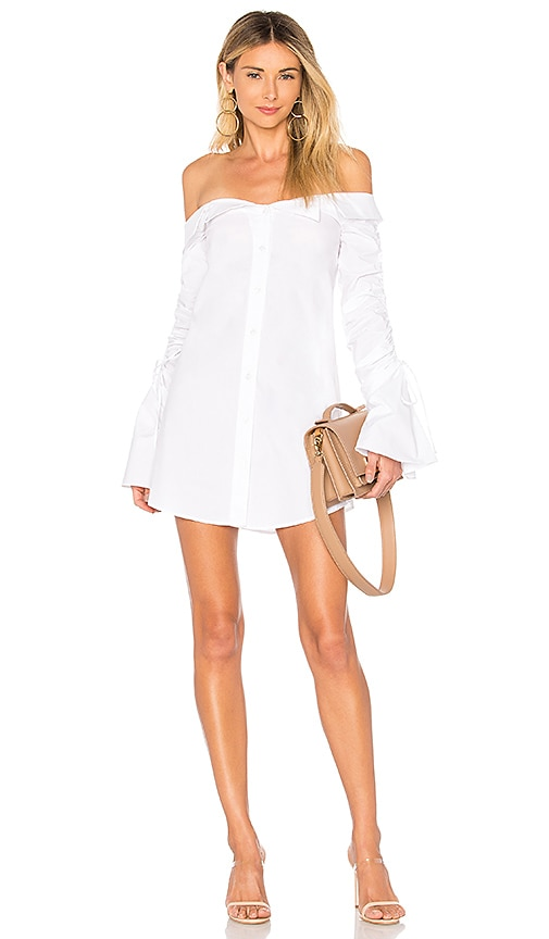 x REVOLVE Coconut Curry Mini in White. - size S (also in XS) Chrissy Teigen