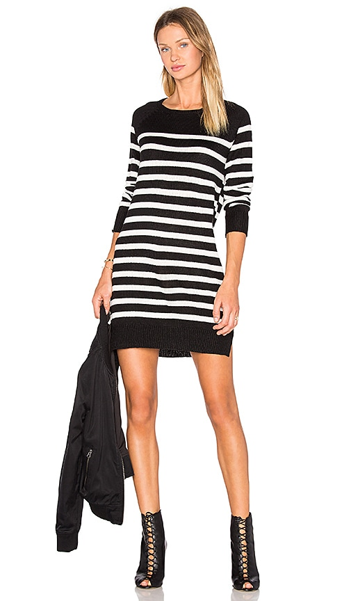 cupcakes and cashmere Grandview Dress in Black & White