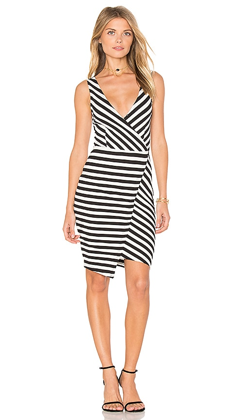 cupcakes and cashmere Sheldon Dress in Black & White