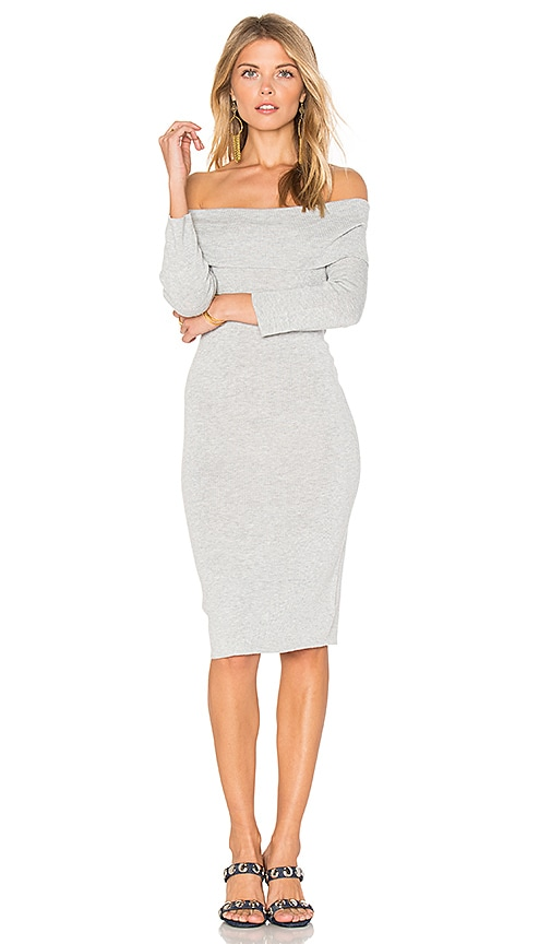cupcakes and cashmere Vance Dress in Gray