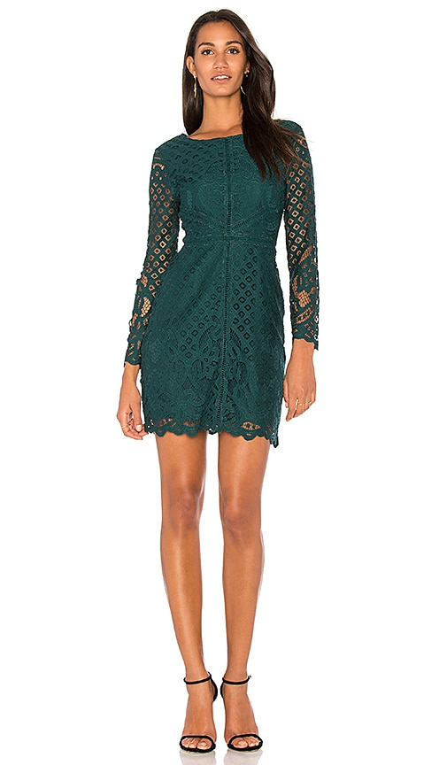 cupcakes and cashmere Spence Dress in Green