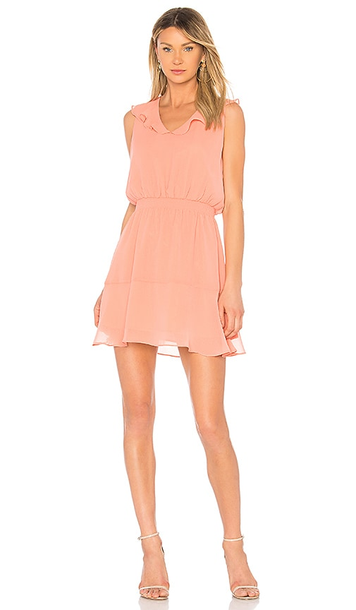 Iniko Dress in Coral. - size L (also in M,S,XS) cupcakes and cashmere