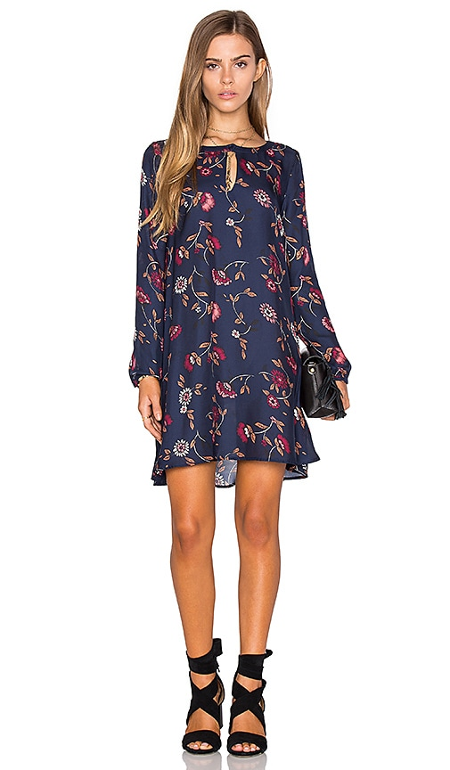 cupcakes and cashmere Hazel Dress in Navy