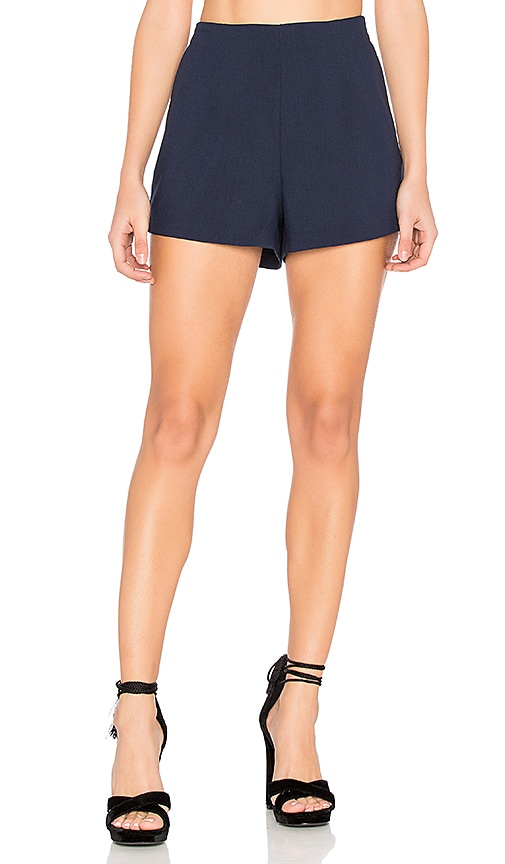 cupcakes and cashmere Evelyn Shorts in Navy