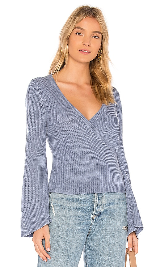 cupcakes and cashmere Chavi Sweater in Blue