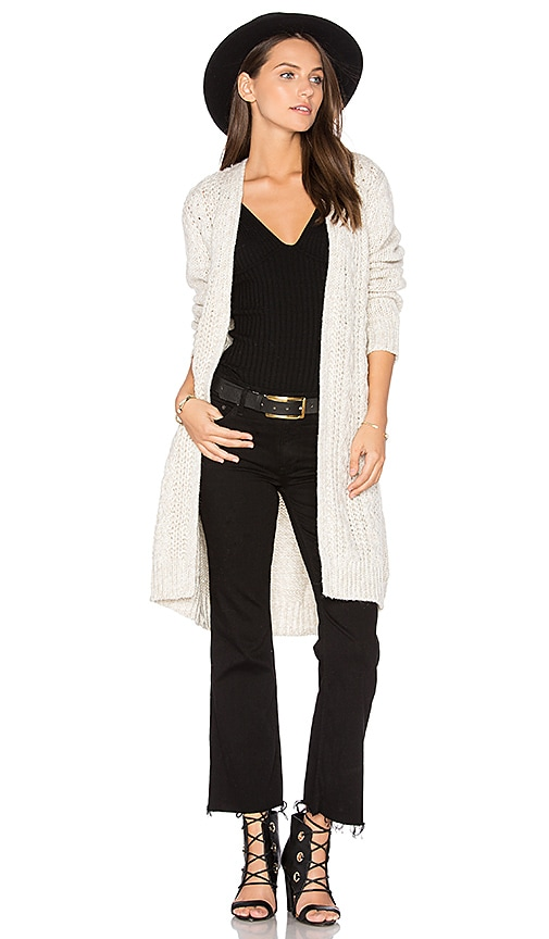 cupcakes and cashmere Neil Cardigan in White