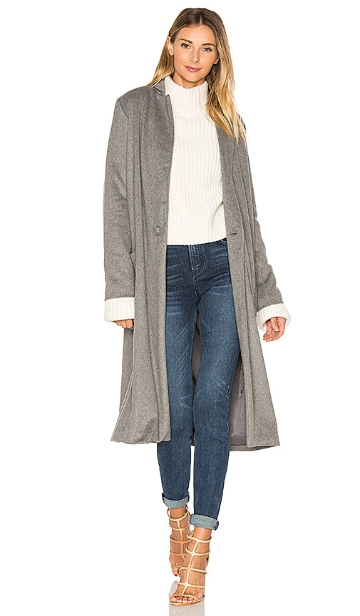 cupcakes and cashmere Levin Jacket in Gray