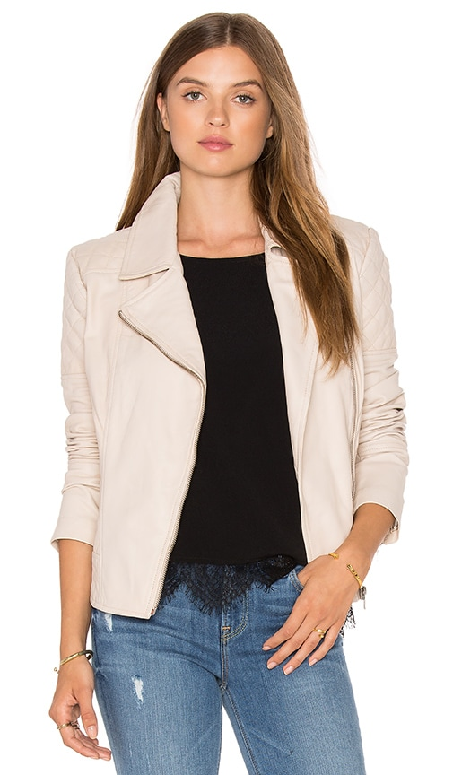 cupcakes and cashmere Yumi Jacket in Beige