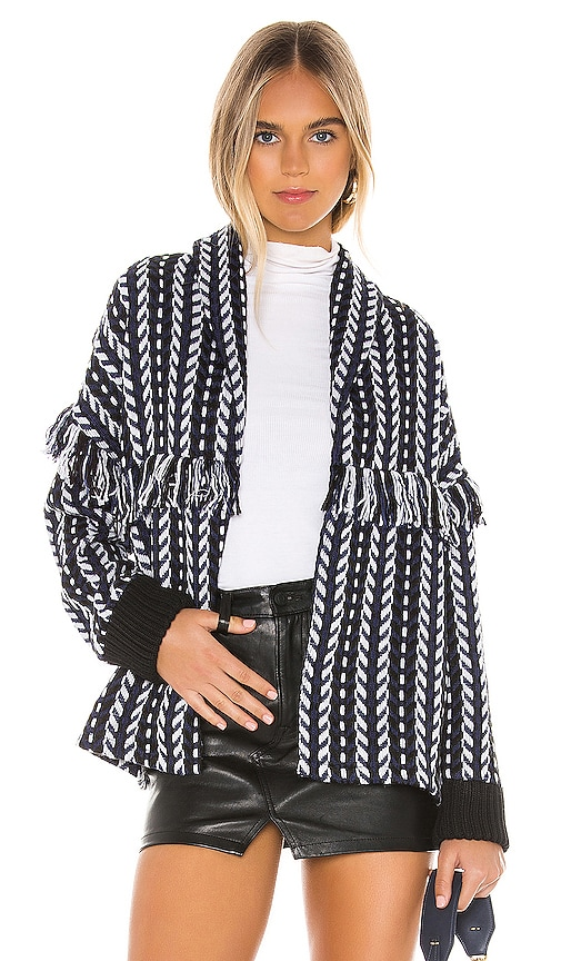 Kirsty Longline Tweed Bomber