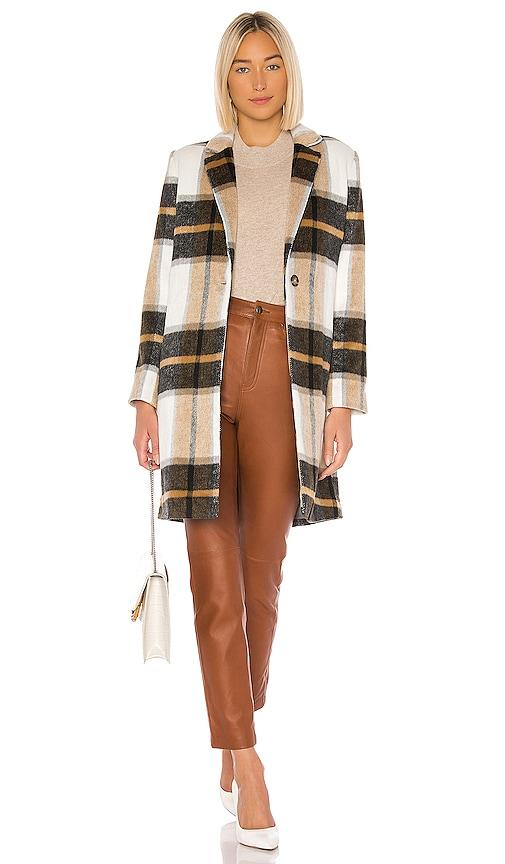 Cher Check Blazer Coat