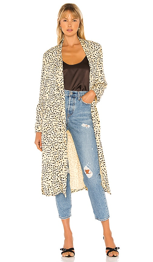 Arianne Leo Dot Duster Coat